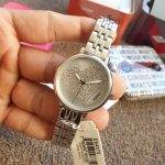 Jacqueline Three-Hand Stainless Steel Watch (ES4375)