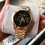 Michael Kors MK Slim Runway Gold-tone Ladies Watch (MK3803)