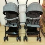 Detachable Twin Baby Stroller