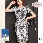DAC korean fashion style bodycon dress for women fashion short sleeve dress free size can fit to large