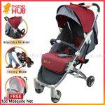 Phoenix Hub Q168 Premium Baby Stroller Aluminum Body Baby Stroller Pushchair Pockit Pocket Stroller Multi Function Baby Travel System