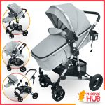 Phoenix Hub A986B Baby Stroller Pockit Pushchair High Quality Portable Stroller Multi Function Baby Travel System Carry Cot Moses Basket