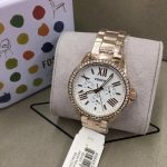 Fossil Cecile AM4630 Rose Gold/Silver Analog Watch