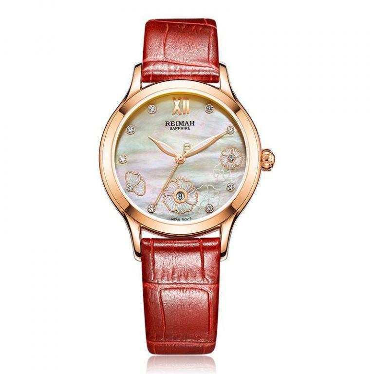 REIMAH Table (reimah) watch watches Product Belt Calendar Quartz watch watches Fashion women watch watches 6112