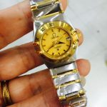 O watch Small for ladies 2 tone (OEM) Battery