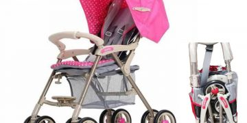 Foldable Stroller Push Chair Baby Trolley Baby Pram