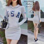 hoodie dress boho dress korean dress