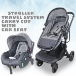 BBL 518 Multi-functional Travel System Baby Stroller with Carry Cot Moses Basket