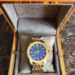 TORY BURCH Authentic Watch Whitney Blue Dial Ladies Watch (Gold)
