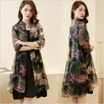 COCOEPPS 2019 Vintage Floral Printed Women Dress Summer 2 pieces Dresses Suits Korean Style Vestidos