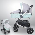 BBL A986B Travel System Baby Stroller Carry Cot Moses Basket