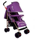 Apple Baby Care_C106B Foldable Baby Stroller - Purple