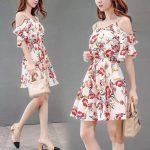 KOKO korean casual fashion dress (W2380-N)
