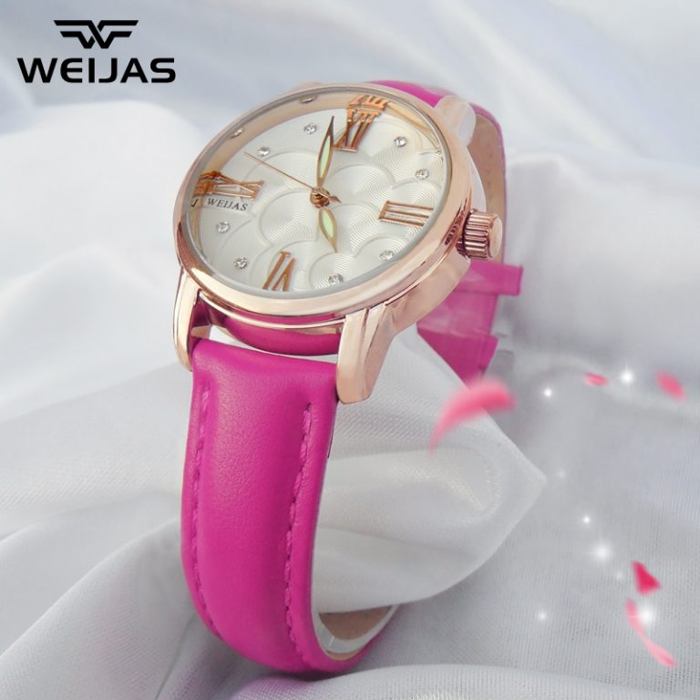 WEIJAS Product Korean Style Fashion women watch watches Quartz Waterproof Ladies' watch watches Quartz watch watches Leather Simple Students