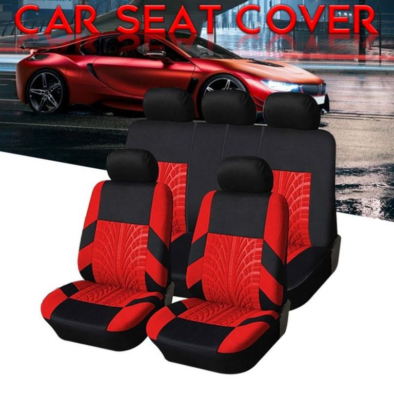 High Quality Car Seat Cover Scratch Resistant Non-Slip Car Seat Cushion Full Seat Cover 9 PCS 5-Seats Four Seasons Vehicle