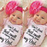 Newborn Infant Baby Girl Boy Jumpsuit Bodysuit Straps Letter Romper Outfits