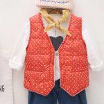 OSBORNSHOP_BABY Coats Fashion Kids Coat Boys Girls Thick Coat Padded Winter Jacket Clothes