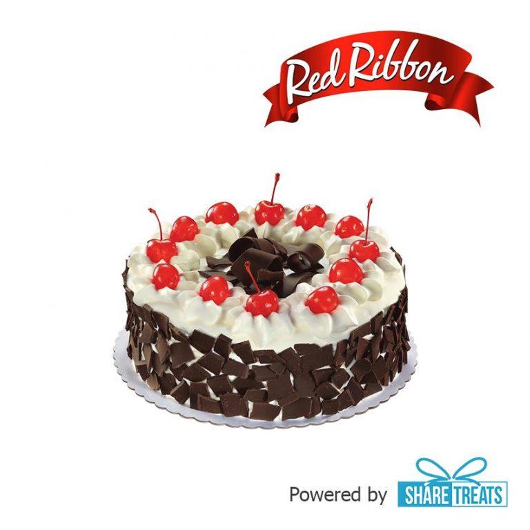 Red Ribbon Black Forest Cake Jr (SMS eVoucher)