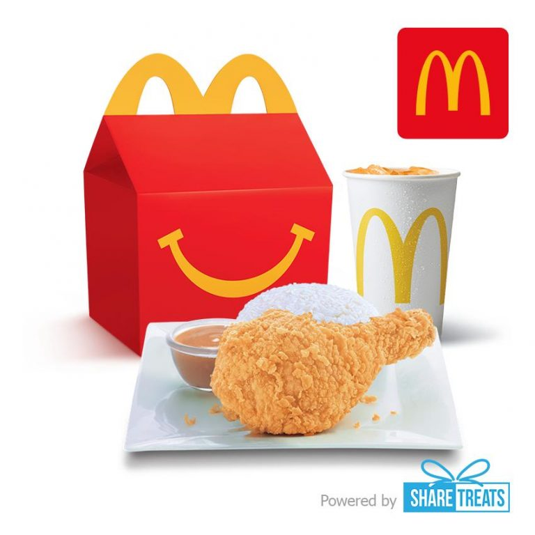 McDonald's 1-pc. Chicken McDo with Rice Happy Meal (SMS eVoucher)