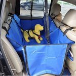 Star Mall Waterproof Vehicle-Mounted Pet Car Back Seat Mat Soiling Resistant Cushion Seat Cover