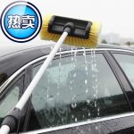 Y Car Flow-through Brush Retractable Soft Bristle Window-Cleaning Window Cleaning Vehicle Cleaning Tool