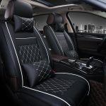 Universal All Car Leather Support Pad Car Seat Covers Cushion Accessories
