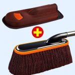 Duster Pure Cotton Soft Bristle Vehicle Cleaning Courage Car Bed Sheet Wipe a Car Useful Product Don't Shed Vehicle Broom Sweep Dust Removal