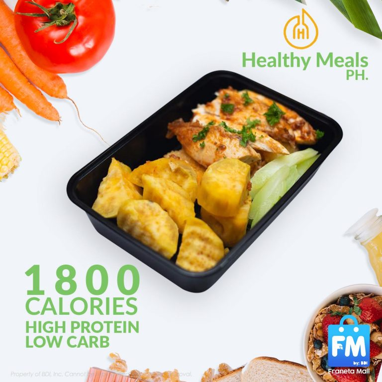 Healthy Meals PH 5days Transformation Program for High Protein Low Carb