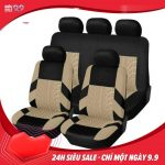 ELEC Full Set Polyester Universal Car Seat Protector Covers Interior Accessories