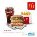 McDonald's Big Mac Small Meal (SMS eVoucher)