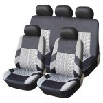 Full Set Polyester Universal Car Seat Protector Covers Interior Accessories