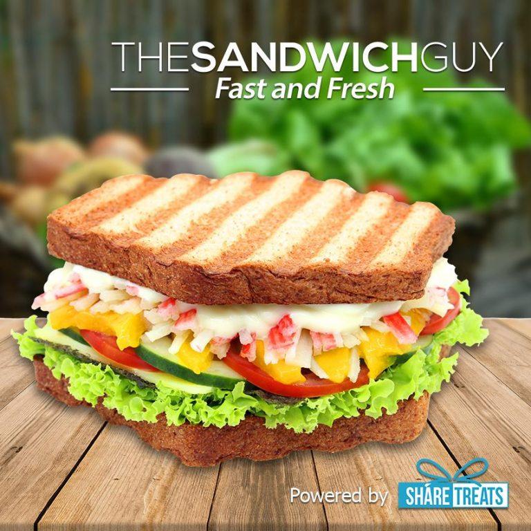 The Sandwich Guy 1pc Crabstick Sandwich (SMS eVoucher)