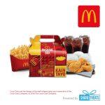 McDonald's McShare Bundle for 3 (SMS eVoucher)