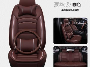 New Style All Edges Included Automobile Seat Cushion Four Seasons Universal Seat Cover Nissan Hideo Only Seat Cover Small Car All-season Seat Pad Seat Cushion