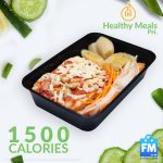 Healthy Meals PH 5days Transformation Program for 1500 Calories Package