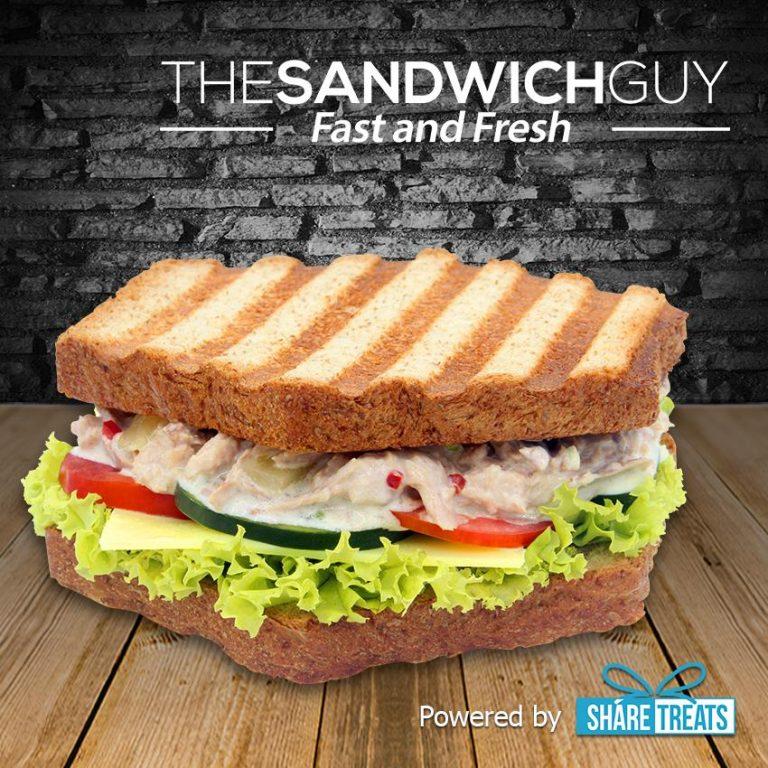 The Sandwich Guy 1pc CountryTuna Sandwich (SMS eVoucher)