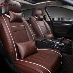 HQ Universal All Car Leather Support Pad Car Seat Covers Cushion Accessories