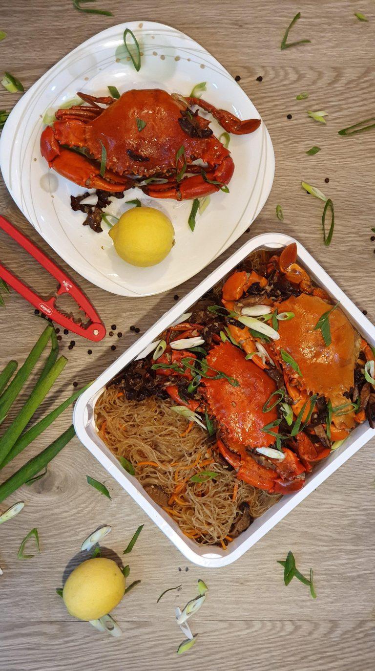 Crab Sotanghon Platter