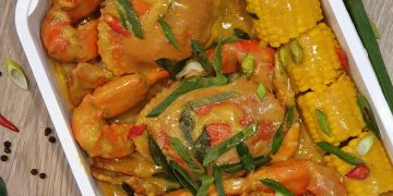 Thai Coco Curry All Crab Platter