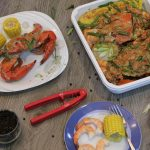 Signature Buttered Garlic Crabs and Shrimps Platter