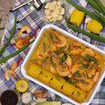 Thai Coco Curry All Shrimp Platter