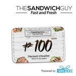 The Sandwich Guy P100 Worth Voucher (SMS eVoucher)