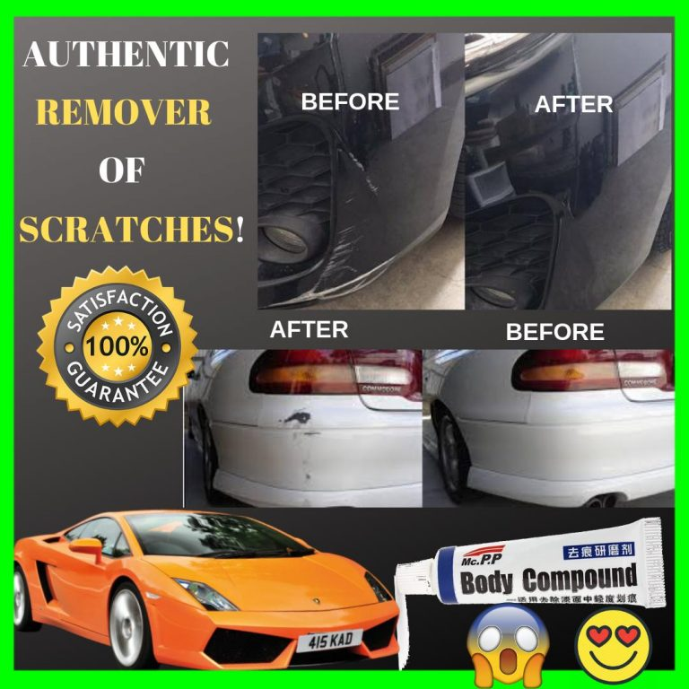 Scratch Remover - Authentic Body Compound