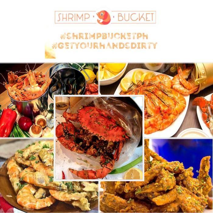 Shrimp Bucket P500 Worth Voucher Food & Drinks at 11 Branches in Metro Manila