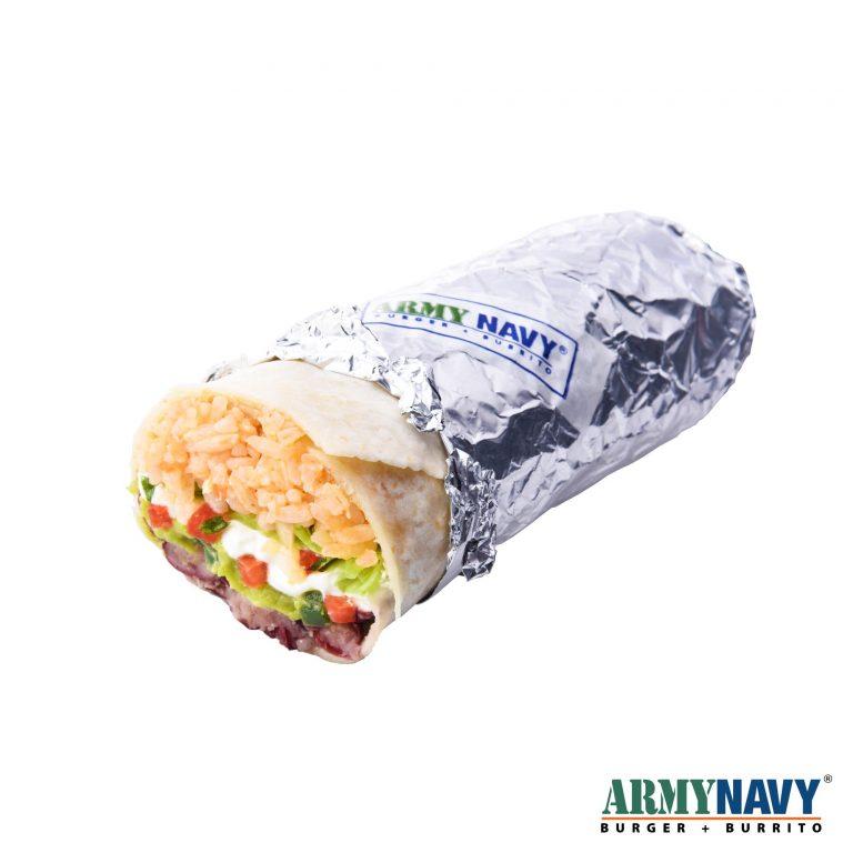 Vegetable Burrito (5% off)