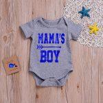 Infant Baby Boys&Girls Letter Print Jumpsuit Romper Bodysuit Sunsuit Clothes