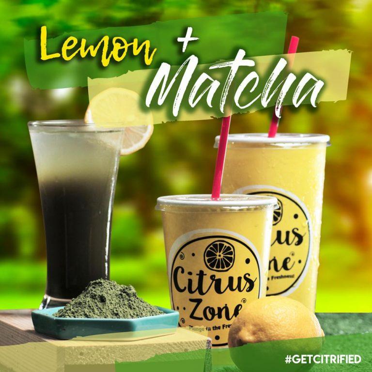 Citrus Zone Lemon + Organic Matcha