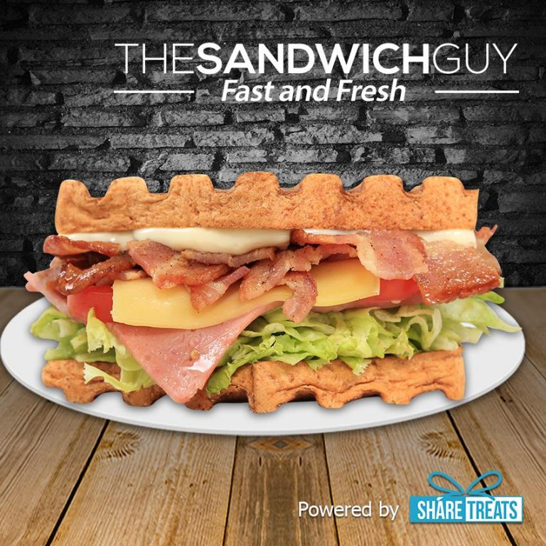The Sandwich Guy 1pc HBLT Sandwich (SMS eVoucher)