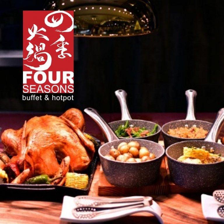 Four Seasons Buffet and Hotpot P500 Gift Voucher