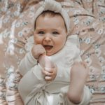 OSBORNSHOP_BABY Newborn Infant Baby Boys Girls Long Sleeve Solid Ruffles Romper Jumpsuit